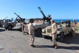 Либиската влада ги прекина разговорите за прекин на огнот