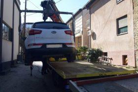 Град Скопје минатата недела отстраниле 213 непрописно паркирани возила