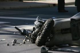 """На """"Качанички пат"""" повреден мотоциклист"""
