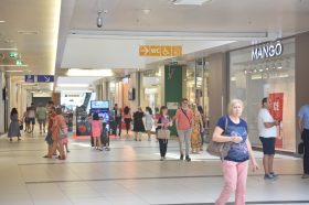Закана за бомба во Сити Мол