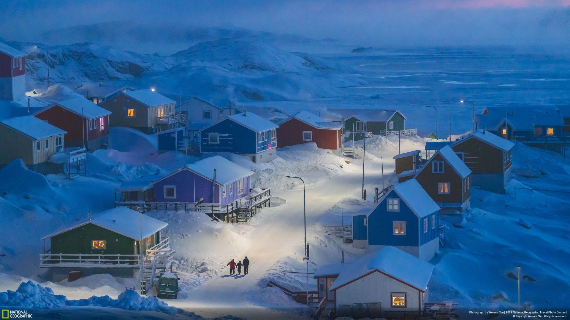 """""""Гренландска зима"""" (Weimin Chu/Your Shot/Naitonal Geographic) - прво место во категорија """"Градови"""" и освоено гран-при"""
