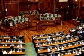 Прва седица на Претседателството на новото косовско Собрание