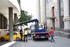 Скопје: За една недела отстранети 218 непрописно паркирани возила