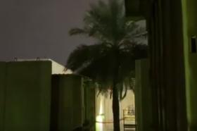 Три ракети паднале во близина на американската амбасада во Багдад (ВИДЕО)