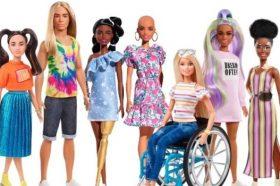Новата Барби има витилиго и нема коса