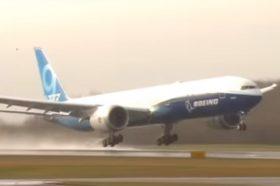 Полета најголем патнички авион со два мотори (ВИДЕО)
