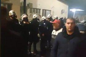 Повредени полицајци и граѓани во немилиот настан во Подгорица