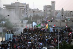 Странски дипломати ја осудија прекумерната сила на ирачките безбедносни сили врз демонстрантите