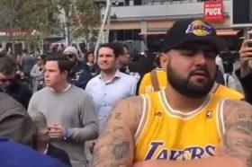 """Фановите се собираат пред """"Стејплс"""" центарот, никој не верува што се случи"""