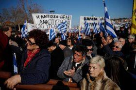 Масовни протести на грчките острови за ситуацијата со мигрантите