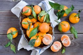 Спас за сувата кожа – Маска од мандарини