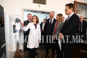Царинската лабораторија доби современа опрема со грант од ЕУ