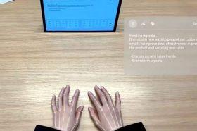"""Најнов изум на технолошкиот гигант: """"Невидливата"""" тастатура на Самсунг"""