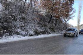 Внимателно возете, снег на планинските превои Плетвар, Буково и Ѓавато