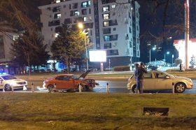 Се судрија два автомобили на Партизанска