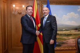 Спасовски се сретна со новиот амбасадор на БиХ, Јаќимовиќ
