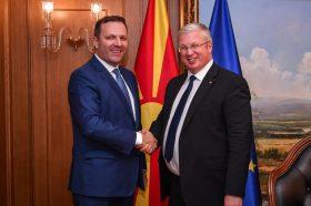 Спасовски: Се унапредуваат односите и соработката меѓу Северна Македонија и Руската Федерација
