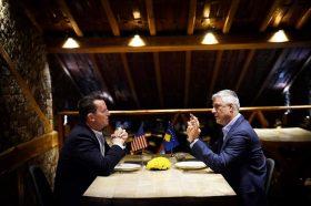 Тачи: Со Гренел зборувавме за дијалогот Косово-Србија