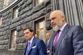 Рама како претседавач на ОБСЕ во Украина на средби со државниот врв