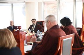Претседателот на Уставниот суд на средба со американската амбасадорка