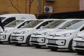 За домашна посета и партонажа ставени во функција нови 13 возила