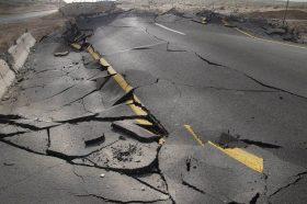 Кина погодена од силен земјотрес