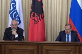 Рама во Москва се сретна со Лавров, се разговараше и за косовското прашање