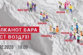 Коронавирусот го одложи протестот за чист воздух, на цел Балкан
