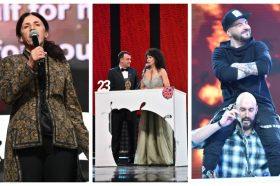 """Златна Бубамара 2020, на сцената и пред сцената: Сашко Коцев го """"избриша"""" подот со РЕКЕТ! (ГАЛЕРИЈА)"""