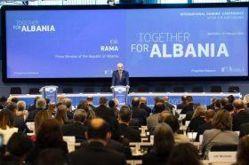 ЕДИ РАМА НЕ МОЖЕ ДА ЈА СОКРИЕ РАДОСТА: За Албанија собрани 1,15 милијарди евра