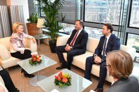 Фон дер Лајен-Спасовски: Исполнети високите очекувања што ги постави Европската комисија
