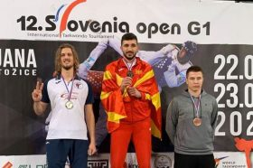 Гордо се вее македонското знаме, Георгиевски на чекор до Олимписките игри