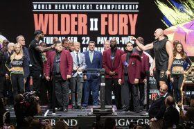 Фјури потежок дури 20 килограми од Вајлдер пред бокс мечот на годината (ВИДЕО)