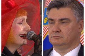 Јосипа Лисац ќе добие кривична пријава за начинот на кој ја испеа хрватската химна! (ВИДЕО)
