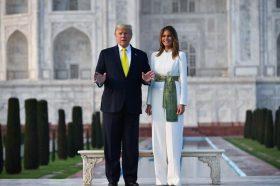 Индија збудале по Меланија Трамп, а таа воодушеви со стајлингот (ФОТО)