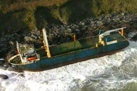 """Напуштениот брод кој повеќе од една година низ Атлантикот пловеше без екипаж """"уловен"""" во Ирска"""