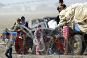 Суровите зимски услови ги влошуваат страдањата на 170 илјади Сиријци кои живеат на отворено