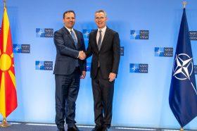 Спасовски и Столтенберг во Брисел: Членството во НАТО, резултат на исполнети критериуми и стандарди