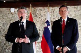 Претседателите на Словенија и Хрватска се договорија за интензивно решавање на проблемите меѓу двете земји