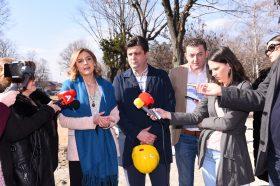 Ангеловска: Преку МСИП забрзано се градат и рехабилитираат локалните патишта