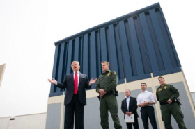 САД ја забрзуваат изградбата на ѕидот на границата со Мексико