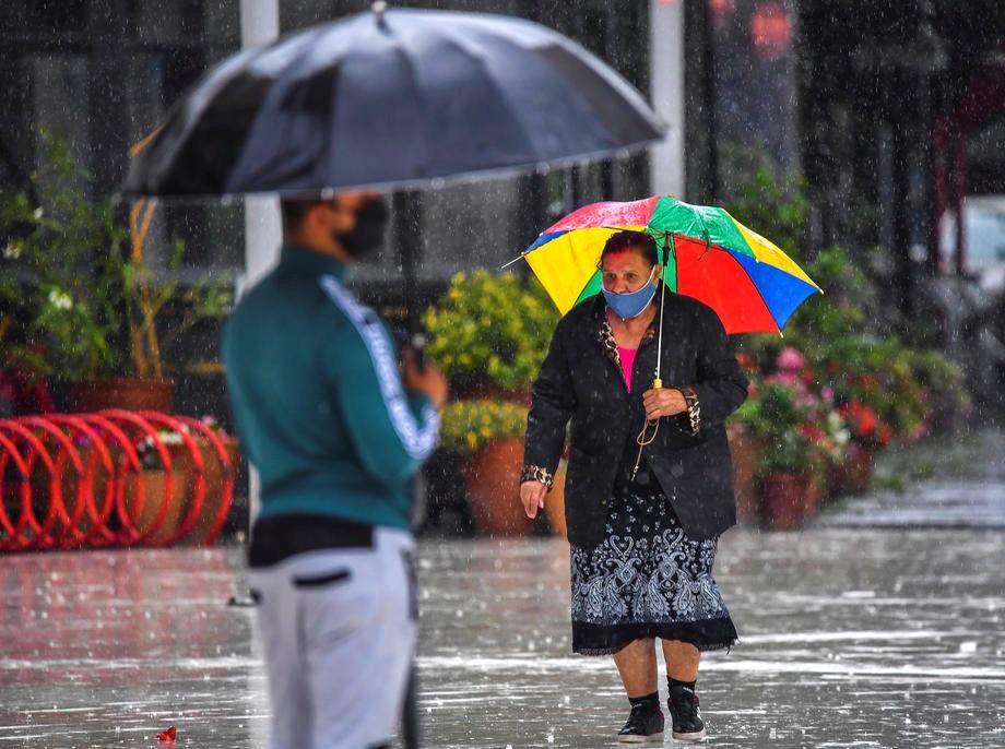 скопје дожд дождливо време