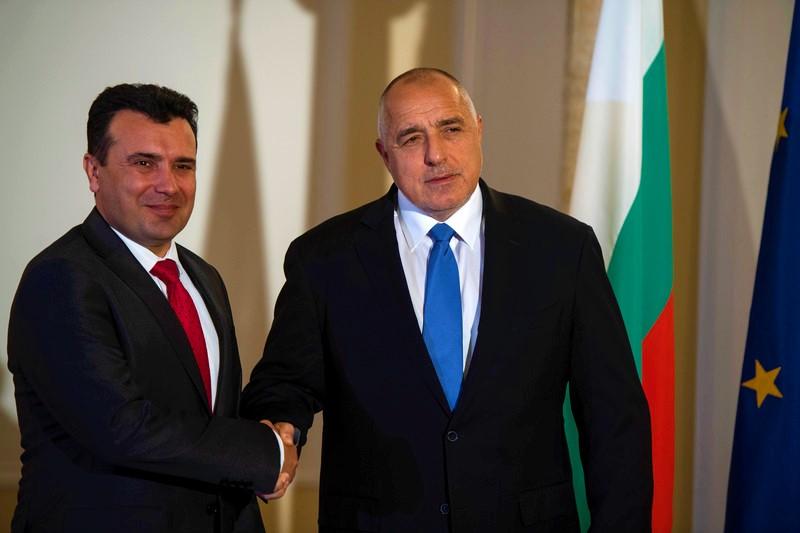 Зоран Заев Бојко Борисов
