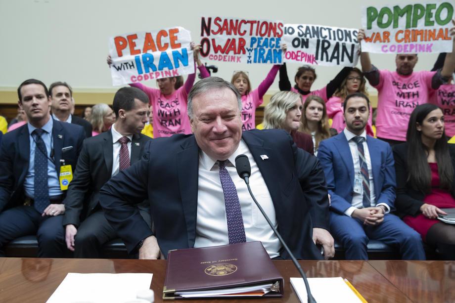 Мајк Помпео за Иран и Ирак
