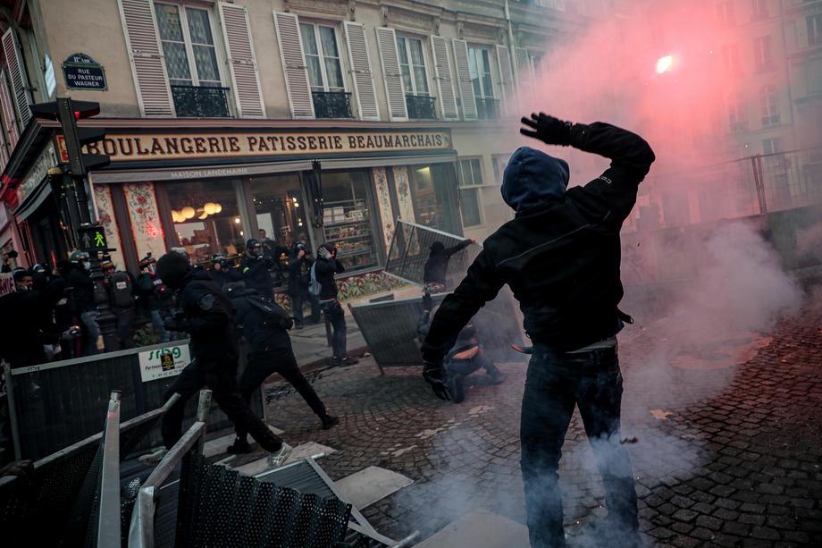 париз протест безбедност