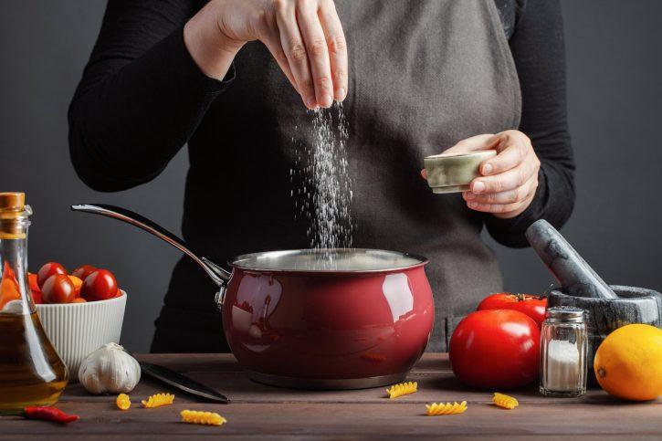 сол, готвење