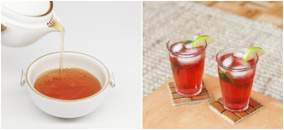 чај пијалак разладување летни горештини