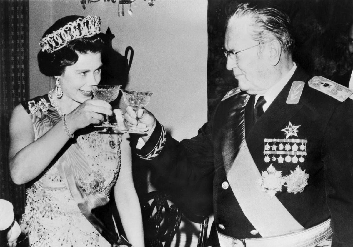 josip broz tito queen elizabeta