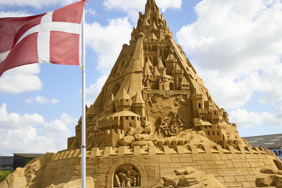 данска највисок замок песок гинис рекорд