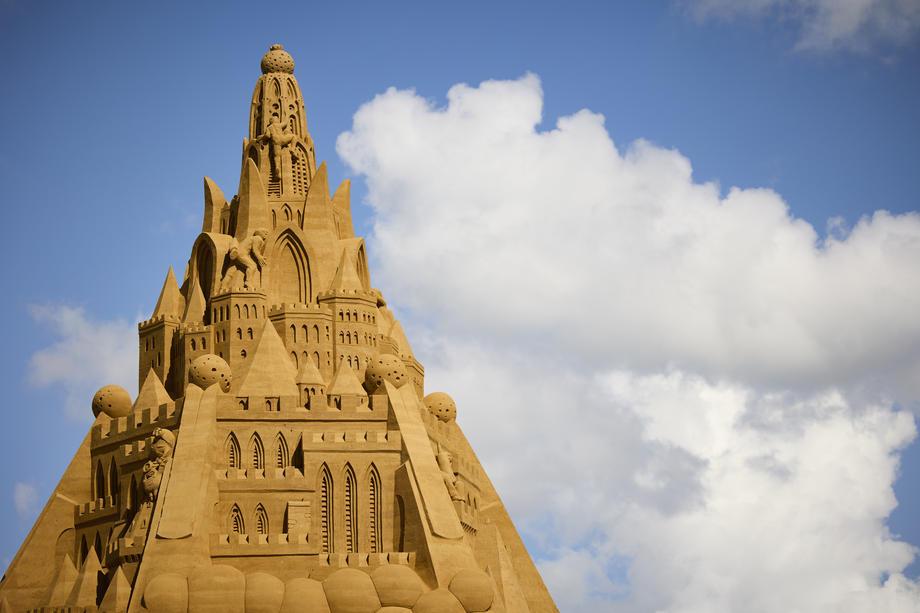 данска замок песок